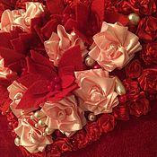 Для дома и интерьера handmade. Livemaster - original item Heart for the beloved. Handmade.