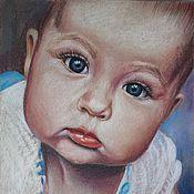 Картины и панно ручной работы. Ярмарка Мастеров - ручная работа Портрет детский. Handmade.