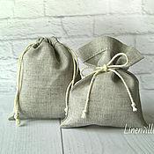 Материалы для творчества handmade. Livemaster - original item Bags, linen cotton natural undyed. Handmade.