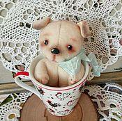 """Куклы и игрушки ручной работы. Ярмарка Мастеров - ручная работа """"Мой щенок похож немного..."""". Handmade."""