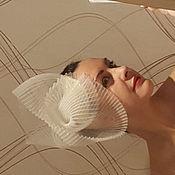 Свадебный салон ручной работы. Ярмарка Мастеров - ручная работа Шляпка свадебная. Handmade.