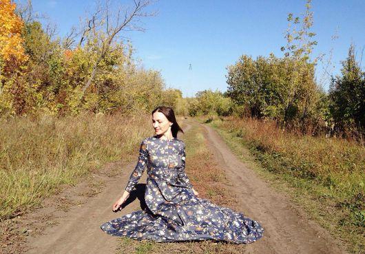 """Платья ручной работы. Ярмарка Мастеров - ручная работа. Купить Платье """"Ночные Светлячки"""". Handmade. Платье, платье в пол"""