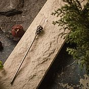 Украшения handmade. Livemaster - original item Wand for hair rhinestone. Handmade.