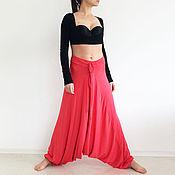 Одежда ручной работы. Ярмарка Мастеров - ручная работа Женские брюки, модные брюки, брюки для полных, широкие брюки. Handmade.