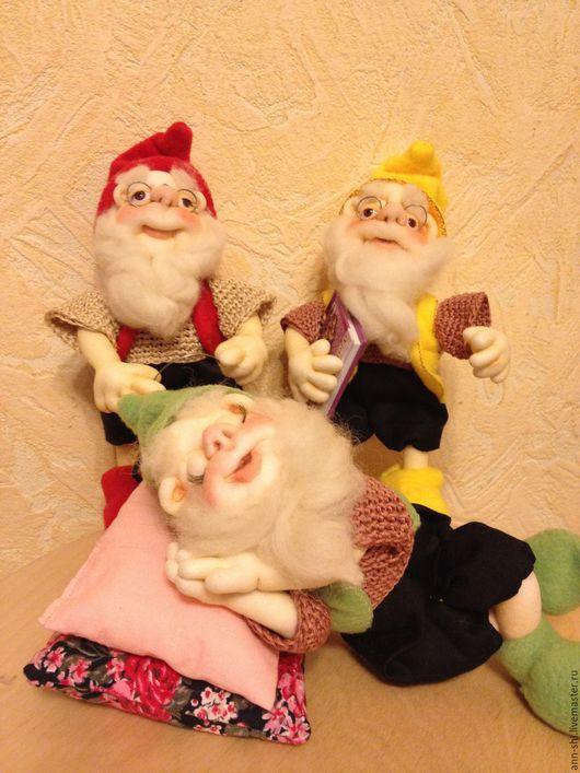 Коллекционные куклы ручной работы. Ярмарка Мастеров - ручная работа. Купить гномы. Handmade. Комбинированный, русский сувенир