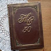 Канцелярские товары handmade. Livemaster - original item Book wishes on the anniversary.. Handmade.