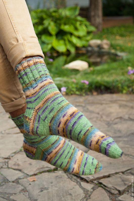 носки вязаные, носки шерстяные, носки мужские, socks, вязаные носки, ручная работа