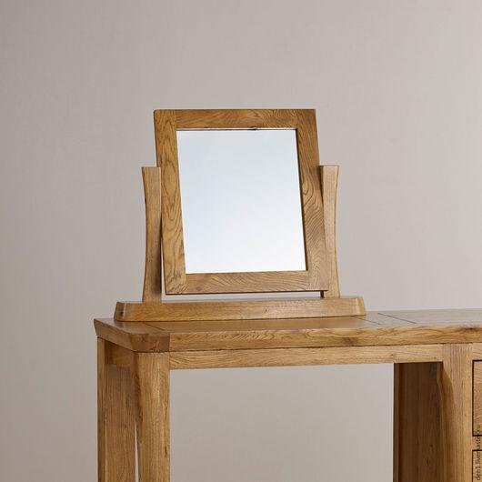 Зеркала ручной работы. Ярмарка Мастеров - ручная работа. Купить Зеркало настольное в раме из массива дуба. Handmade. Массив дуба