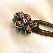 Украшения handmade. Livemaster - original item Hairpin: Flower mandala. Handmade.
