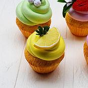 Куклы и игрушки handmade. Livemaster - original item Lemon cupcake. Models (special price see description). Handmade.