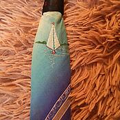 Винтажные аксессуары ручной работы. Ярмарка Мастеров - ручная работа Винтажный мужской галстук. Handmade.