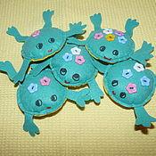 Куклы и игрушки ручной работы. Ярмарка Мастеров - ручная работа Лягушки для малышей. Handmade.