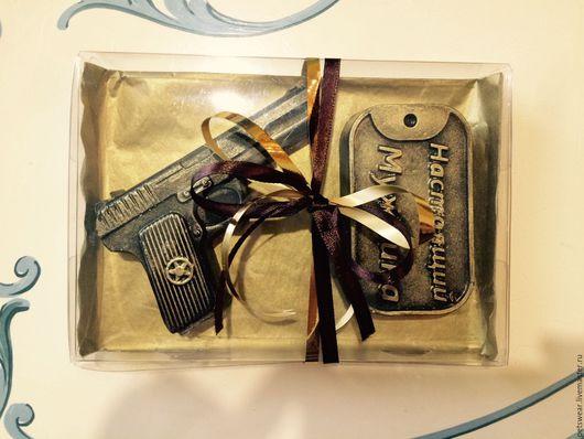 """Подарочные наборы косметики ручной работы. Ярмарка Мастеров - ручная работа. Купить Набор""""Настоящий мужчина""""Подарок мужчине. Handmade. подарочное оформление"""