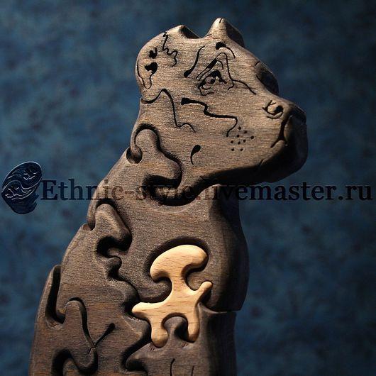 Игрушки животные, ручной работы. Ярмарка Мастеров - ручная работа. Купить Кане-корсо (Итальянский мастиф, фигурка-пазл). Handmade.