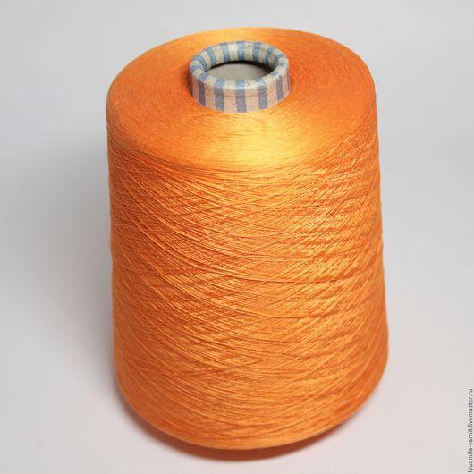 Вязание ручной работы. Ярмарка Мастеров - ручная работа. Купить Хлопок  100% GAS EG PETT, цвет яркий апельсин. Handmade.