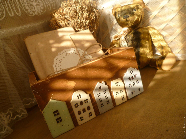 Панно с домиками своими руками фото 554