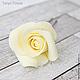 Заколки ручной работы. Шпильки с розами (маленькие) - Айвори кремовый. Tanya Flower. Ярмарка Мастеров. Украшение в волосы, цветы для прически