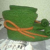Работы для детей, handmade. Livemaster - original item Shoes Elf. Handmade.