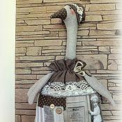 Для дома и интерьера ручной работы. Ярмарка Мастеров - ручная работа Старые рецепты  (пакетница). Handmade.