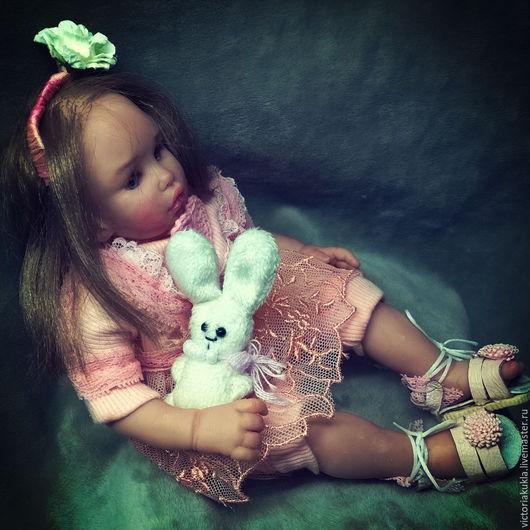 Коллекционные куклы ручной работы. Ярмарка Мастеров - ручная работа. Купить Мэрибель ООАК Авторская кукла 21 см. Handmade.