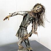 """Мягкие игрушки ручной работы. Ярмарка Мастеров - ручная работа Авторская кукла """"Странник"""". Handmade."""