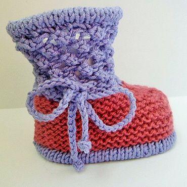 Обувь ручной работы. Ярмарка Мастеров - ручная работа Пинетки для малыша. Handmade.