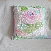 Для дома и интерьера handmade. Livemaster - original item Patchwork pillow case