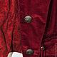 Жилеты ручной работы. Заказать Жилет  Ализарин. Теравская Ирина (Design TIE). Ярмарка Мастеров. Жилет с брюками, жилеты, вельвет