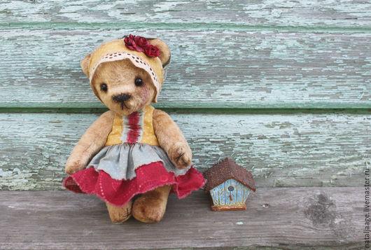 Мишки Тедди ручной работы. Ярмарка Мастеров - ручная работа. Купить Мишка Роззи. Handmade. Бежевый, мишка в подарок, подарок
