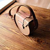 Сумки и аксессуары handmade. Livemaster - original item Leather bag/Bag / bag leather/dusty rose handbag. Handmade.