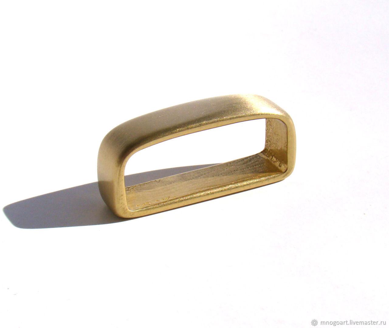 Шлевки латунь на 35 и 40 мм, Фурнитура для шитья, Балабаново,  Фото №1