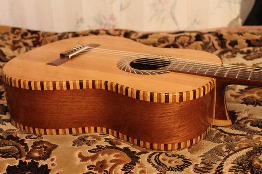 Струнные инструменты ручной работы. Ярмарка Мастеров - ручная работа. Купить Мастеровая гитара ручной работы. Handmade. Гитара
