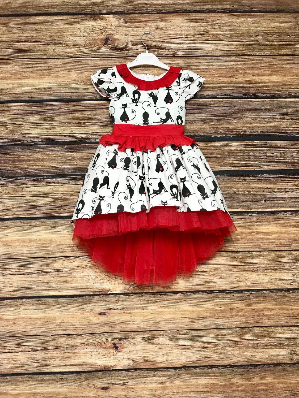 Одежда для девочек, ручной работы. Ярмарка Мастеров - ручная работа. Купить Детское платье Кошки ( 2 варианта). Handmade.