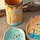 Ванная комната ручной работы. Мыльница керамическая Травы. Viktory-decor (Ceramics Fantasy). Ярмарка Мастеров. Авторская керамика