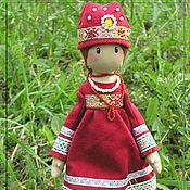 Куклы и игрушки ручной работы. Ярмарка Мастеров - ручная работа Евдокия - русская красавица. Handmade.