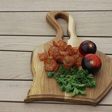 Посуда ручной работы. Ярмарка Мастеров - ручная работа Разделочная доска арфа. Handmade.