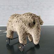 Для дома и интерьера handmade. Livemaster - original item Toys: Elephant on wheels interior toy. Handmade.