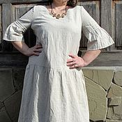 Одежда ручной работы. Ярмарка Мастеров - ручная работа Бохо платье с подъюбником. Handmade.