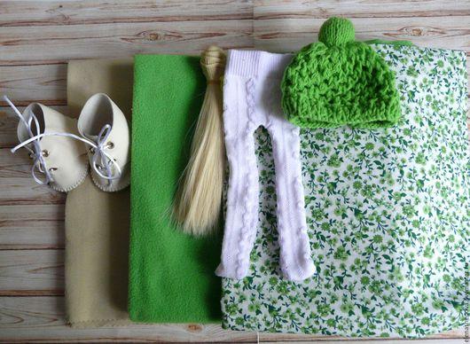 Куклы и игрушки ручной работы. Ярмарка Мастеров - ручная работа. Купить Набор для создания куколки. Handmade. Комбинированный