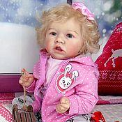 Кукла реборн Саския