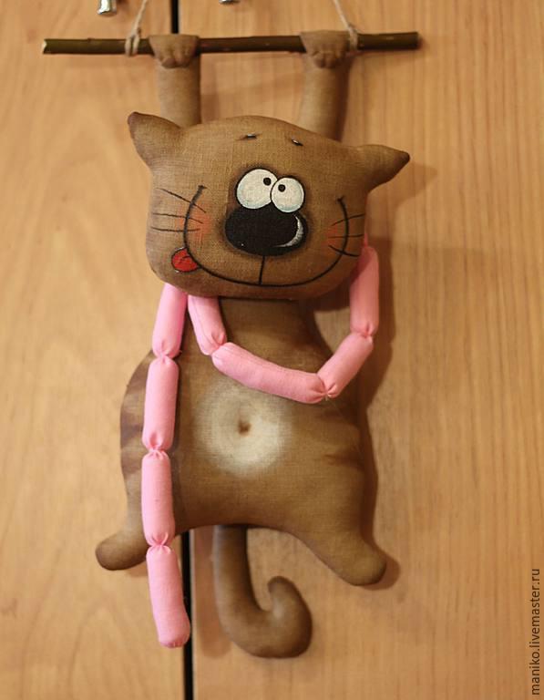 Интерьерные игрушки своими руками интерьерные котики 91