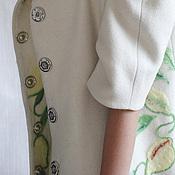 Одежда ручной работы. Ярмарка Мастеров - ручная работа Пальто женское из шерсти Лимоны. Авторское, дизайнерское пальто.. Handmade.