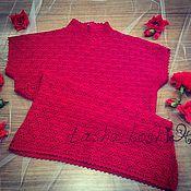 Одежда ручной работы. Ярмарка Мастеров - ручная работа Красный топ. Handmade.