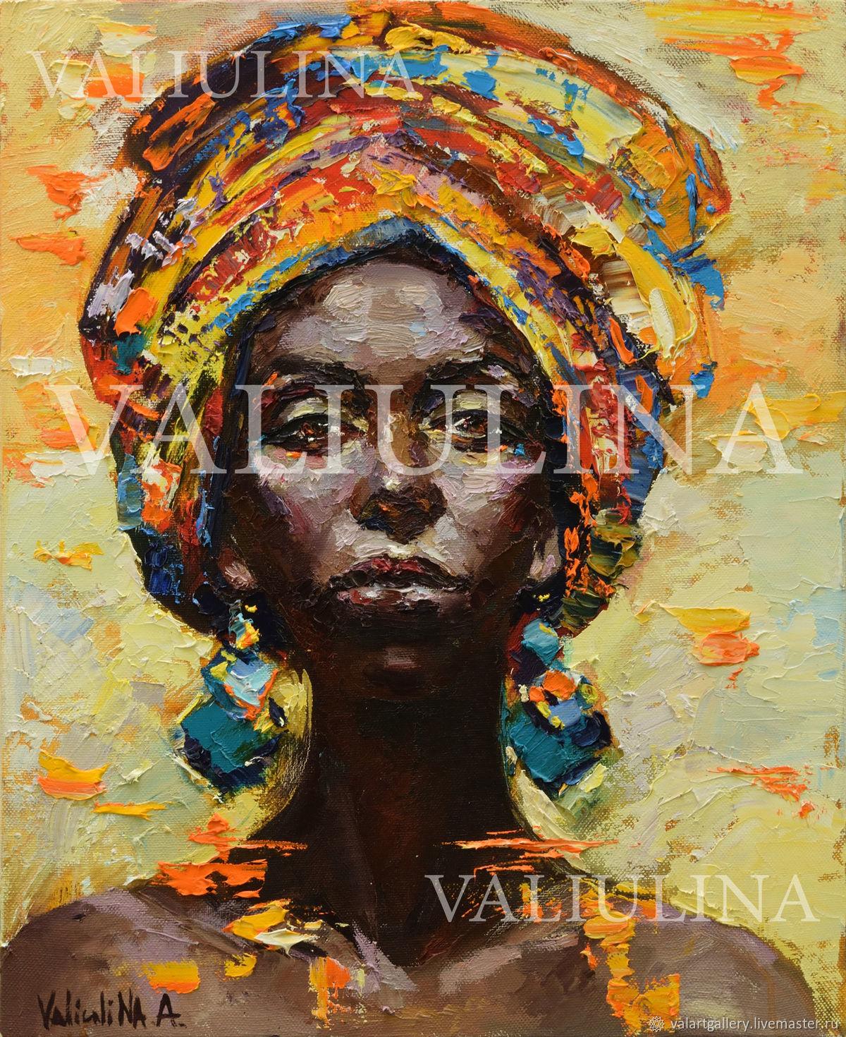 Африканка, Картины, Симферополь, Фото №1