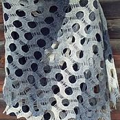 Аксессуары handmade. Livemaster - original item 50 shades of grey stole. Handmade.
