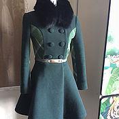 Одежда ручной работы. Ярмарка Мастеров - ручная работа Пальто зимнее,утепленное. Handmade.
