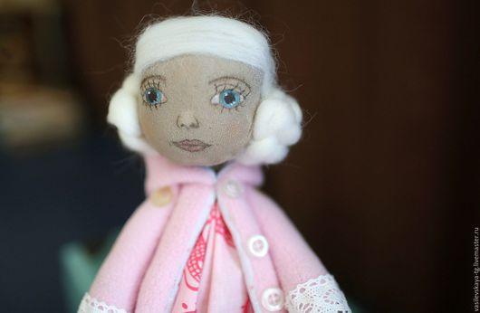 Коллекционные куклы ручной работы. Ярмарка Мастеров - ручная работа. Купить Нежная малышка для маленькой принцессы. Handmade. Розовый
