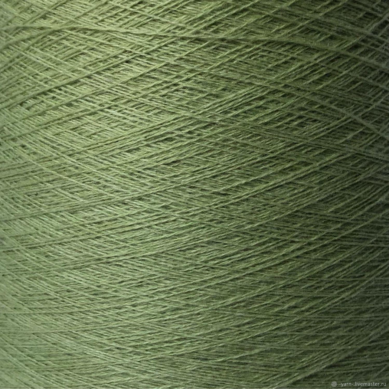 Пряжа Кашемир 2/28 салатовый – купить на Ярмарке Мастеров – NDJICRU | Пряжа, Санкт-Петербург