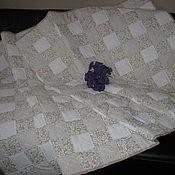 """Для дома и интерьера ручной работы. Ярмарка Мастеров - ручная работа Лоскутное одеяло """"Крем-брюле"""". Handmade."""