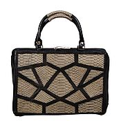 Сумки и аксессуары handmade. Livemaster - original item Stylish and functional tote bag made of genuine leather. Handmade.